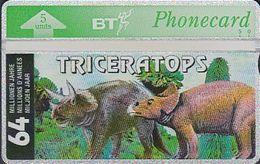 UK Bto 61 Dinosaur Series (4) Triceratops - 309G - Ver. Königreich