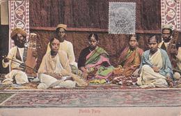 CPA Inde Britannnique / British India - Nautch Party - Jind State - 1915 - Inde