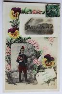 CPA Militaria Amitiés Du 22 Régiment De Dragons Cavalerie Cuirassier Reims 1914 Peltier Ferms Aux Oiseaux Vaiges 53 - Regiments