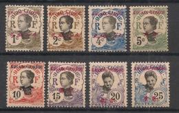 Kouang Tchéou - 1908 - N°Yv. 18 à 25 - Complet 8 Valeurs - Neuf * / MH VF - Kouang-Tchéou (1906-1945)