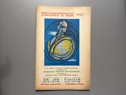 CHAMPIONNATS DU MONDE - WERELDKAMPIOENSCHAPPEN - 1957 - WAREGEM - LUIK - LIEGE - Ciclismo