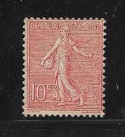 France  Semeuse Lignée De 1903 N°129 Neuf * - 1903-60 Semeuse Lignée
