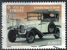 France 2019 Oblitéré Used Automobile Citroën Type A 10 HP 1919-2019 Voiture SU - Oblitérés