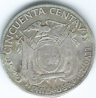 Ecuador - 1928 - 50 Centavos - KM71 - Ecuador