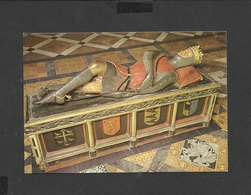 Colour Postcard Gloucester Cathedral  Wooden Effigy  Robert Duke Of Normandy  Unposted - Churches & Cathedrals