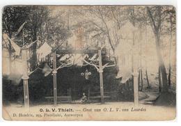Tielt-Winge  O.L.V. Thielt. - Grot Van O.L.V. Van Lourdes D.Hendrix 1905 - Tielt-Winge