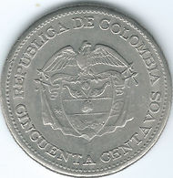 Colombia - 1960 - 50 Centavos - 150th Anniversary Of Independence - KM223 - Colombia