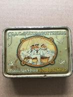 Old Tobacco Tin, J&a,C Van Rossen Rotterdam. - Boites à Tabac Vides
