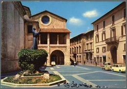 °°° Cartolina N. 4 Rieti Piazza Mariano Vittori Viaggiata Con Annullo Speciale °°° - Rieti