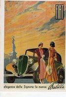 Fiat Balilla  -  Publicite D'epoque 1934  -   CPM - Voitures De Tourisme