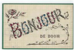 BONJOUR DE BOOM 1906 - Boom