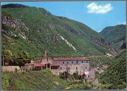 °°° Cartolina N. 5 Rieti Santuario Francescano Di Poggio Buscone  Viaggiata °°° - Rieti