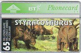 UK Bto 75 Dinosaur Series (15) Styracosaurus - 403D - Ver. Königreich
