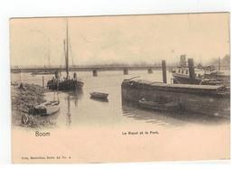Boom - Le Rupel Et Le Pont - Boom