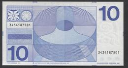 NETHERLANDS  10 GULDEN 1968 @ UNC @ See The 2 Scans For Condition.(Originalscan ) - [2] 1815-… : Kingdom Of The Netherlands