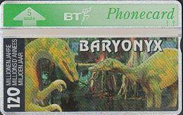 UK Bto 77 Dinosaur Series (17) Baryonyxsaurus - 404F - Ver. Königreich
