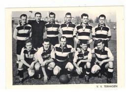 V.V. TERHAGEN Voetbalploeg Fotokaart - Rumst
