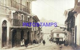 111857 BOLIVIA LA PAZ VISTA DE LA CALLE STREET POSTAL POSTCARD - Bolivia