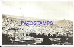111858 BOLIVIA LA PAZ VIEW PARTIAL STATION TRAIN ESTACION DE TREN CIRCULATED TO PERU POSTAL POSTCARD - Bolivia