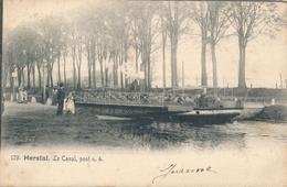CPA - Belgique - Herstal - Le Canal - Pont N°4 - Herstal
