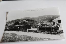 Photo  D Une Carte Postale ?? Le Haut Du Tem Le Tramway - Tram