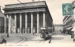 PIE.LOT CH -19-3805 : DIJON. EDITION LL. THEATRE. TRAMWAY. - Dijon