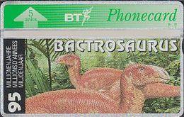 UK Bto 112 Dinosaur Series (20) Bactrosaurus - 505A - Only 500x - Mint - Ver. Königreich