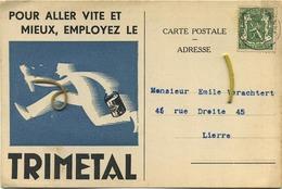 Court-Saint-Etienne : Edmont Jadin : Fournitures Générales Pour La Peintre ( 2 Scan )  1937 - Court-Saint-Etienne