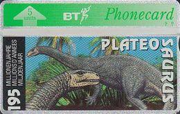 UK Bto 113 Dinosaur Series (21) Plateosaurus - 505A - Only 500x - Mint - Ver. Königreich