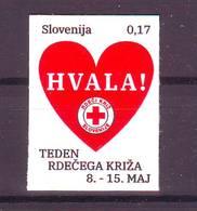 Slovenia 2019 RED CROSS MNH- Selbstklebende - Slovenië