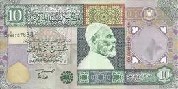 LIBYE 10 DINARS ND2002 XF+ P 66 - Libia