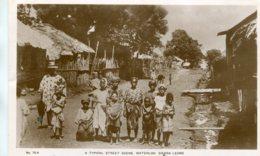 SIERRA LEONE - RPPC - Atypical Street Scene Waterloo - Superb Ethnic View Etc - RAF Censors 9 Catchet - Sierra Leone