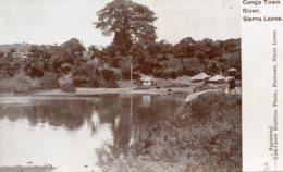 SIERRA LEONE -  Congo Town River - Sierra Leone