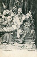 NORWAY - En Lappefamilie - VG Ethnic Family Group - Unused Undivided Rear - Europe