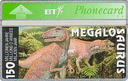 UK Bto 117 Dinosaur Series (25) Megalosaurus - 505H - Only 1000x - Mint - Ver. Königreich