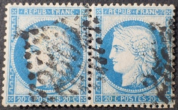 R1970/31 - CERES (PAIRE) N°37 - GC 2502 : MONTPELLIER (Hérault) - 1870 Siege Of Paris