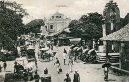 SRI LANKA (CEYLON) Colombo - Ecellent Street Scene - VG Ceylon Stamps And Postmark 1911 - Interesting Message Etc - Sri Lanka (Ceylon)