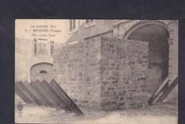 Vente Immediate Senones (88) Guerre 1914 Mur Contre Tank (Imp.  Ch. Cablé) - Senones