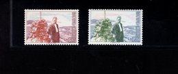 763765115 1976 SCOTT 681 682 POSTFRIS  MINT NEVER HINGED EINWANDFREI  (XX)  OLAVE DUUN NOVELIST - Norvège