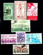 Siria-00084 - Valori Del 1958-59 (o) Used - Senza Difetti Occulti. - Siria