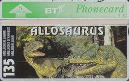 UK Bto 040 Dinosaur Series (1) Allosaurus - 306C - Only 1500x - Mint - Ver. Königreich