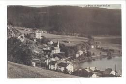 21983 - Le Pont Et Mont Du Lac Vallée De Joux 1920 - Fantaisies