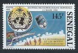 Sénégal YT 749 XX / MNH Espace Space Météo - Senegal (1960-...)