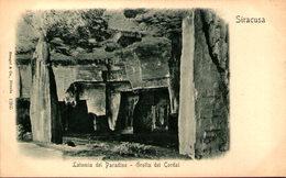 SIRACUSA - Latomia Del Paradiso - Grotta Dei Cordai - Siracusa