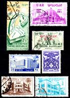 Siria-00086 - Valori Del 1958-59 (++/o) MNH/Used - Senza Difetti Occulti. - Siria