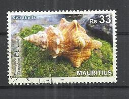 MAURITIUS 2017 - SEA SHELL - OBLITERE USED GESTEMPELT USADO - Conchas