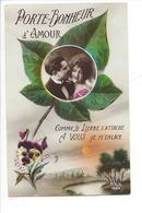 21986 - Porte-Bonheur D'Amour Comme Le Lierre S'attache A Vous Je M'enlace - Couples