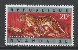 TIMBRE NEUF DU RWANDA - LEOPARD N° Y&T 65 - Big Cats (cats Of Prey)