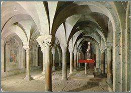 °°° Cartolina N. 13 Rieti Cripta Della Cattedrale Viaggiata °°° - Rieti