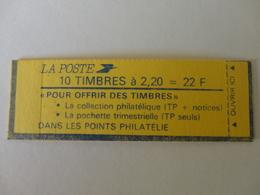 TIMBRE DE FRANCE CARNET 2376 C4 FERME - Carnets